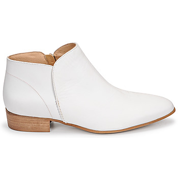 Chaussures Femme Boots JB Martin AGNES Blanc