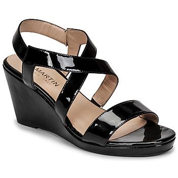 Chaussures Femme Sandales et Nu-pieds JB Martin QUETZA Noir