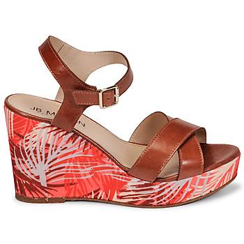 Chaussures Femme Sandales et Nu-pieds JB Martin OCELIA Marron