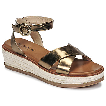 Chaussures Femme Sandales et Nu-pieds JB Martin CASTEL Kaki