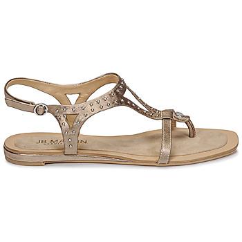 Chaussures Femme Sandales et Nu-pieds JB Martin ALANIS Métal stone
