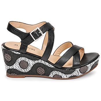 Chaussures Femme Sandales et Nu-pieds JB Martin DARELO Noir