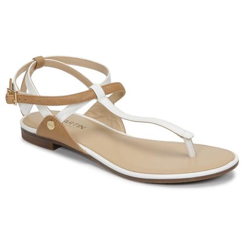 Chaussures Femme Sandales et Nu-pieds JB Martin GENIE Blanc