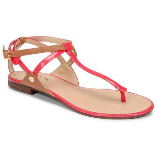 Chaussures Femme Sandales et Nu-pieds JB Martin GENIE Fuxia