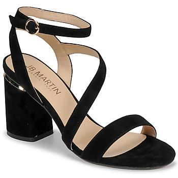 Chaussures Femme Sandales et Nu-pieds JB Martin KRYSTEN Noir