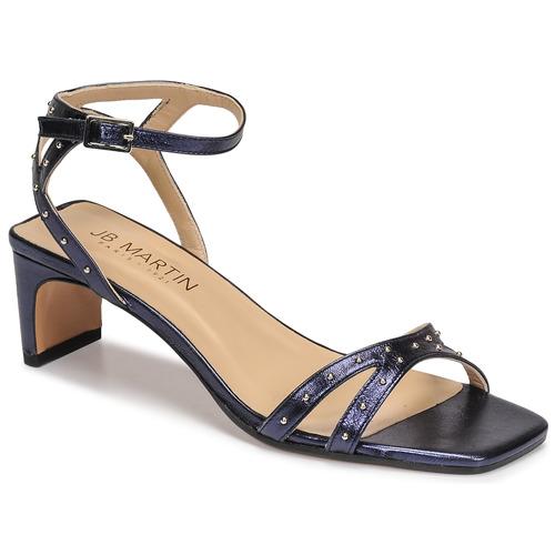Chaussures Femme Sandales et Nu-pieds JB Martin RAINBOWS Encre
