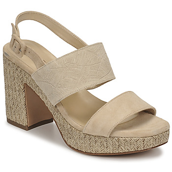 Chaussures Femme Sandales et Nu-pieds JB Martin XIAO Sable