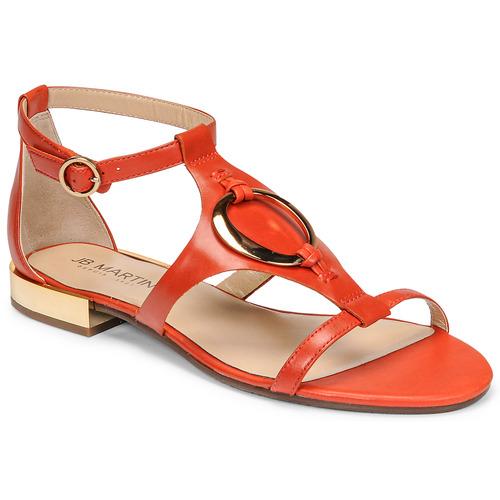 Chaussures Femme Sandales et Nu-pieds JB Martin BOCCIA Papaye
