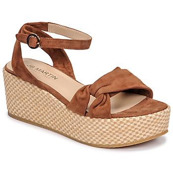 Chaussures Femme Sandales et Nu-pieds JB Martin CAPRI Tan