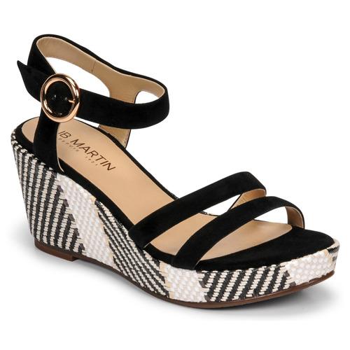 Chaussures Femme Sandales et Nu-pieds JB Martin DORKA Noir