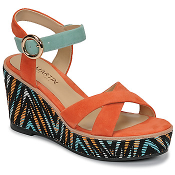 Chaussures Femme Sandales et Nu-pieds JB Martin EMEA Papaye