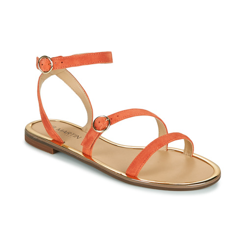 Chaussures Femme Sandales et Nu-pieds JB Martin GILANA Papaye