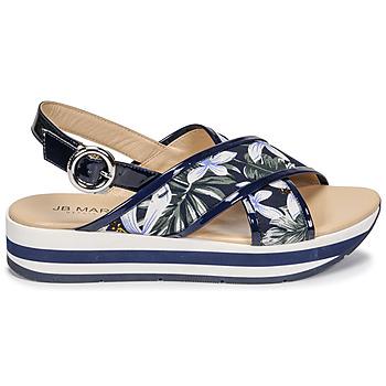 Chaussures Femme Sandales et Nu-pieds JB Martin ILANG Marine