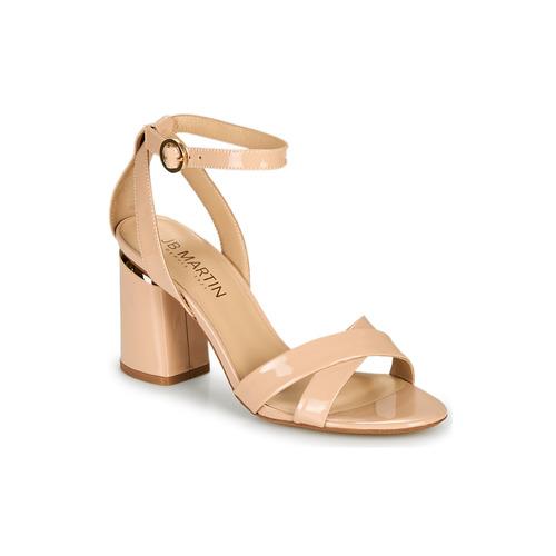 Chaussures Femme Sandales et Nu-pieds JB Martin KIMOE Poudre