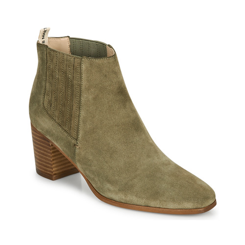 Chaussures Femme Bottines JB Martin LIZIO Olive