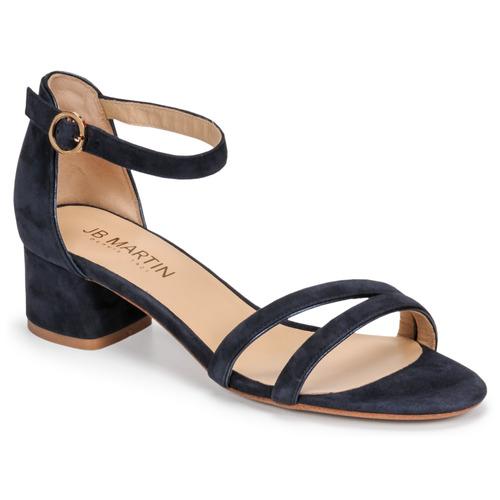Chaussures Femme Sandales et Nu-pieds JB Martin MACABO Noir