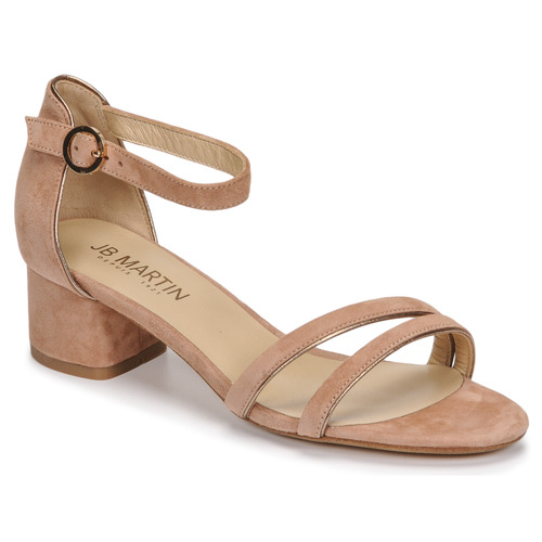 Chaussures Femme Sandales et Nu-pieds JB Martin MACABO Fard