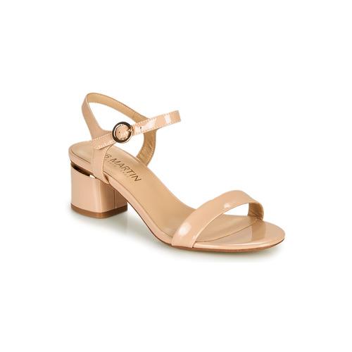 Chaussures Femme Sandales et Nu-pieds JB Martin MALINA Poudre