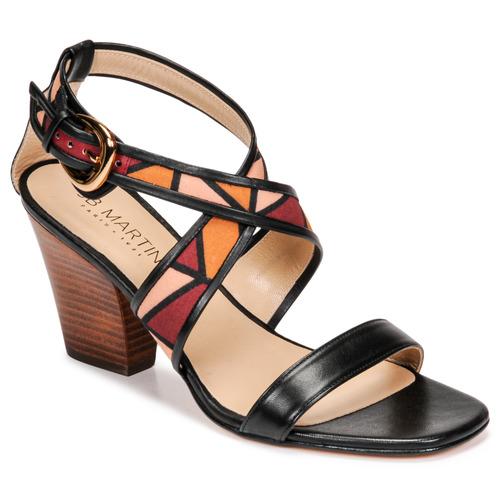 Chaussures Femme Sandales et Nu-pieds JB Martin NALIA Noir