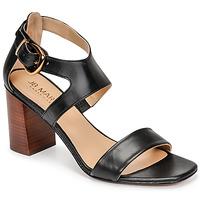 Chaussures Femme Sandales et Nu-pieds JB Martin NAWELI Noir