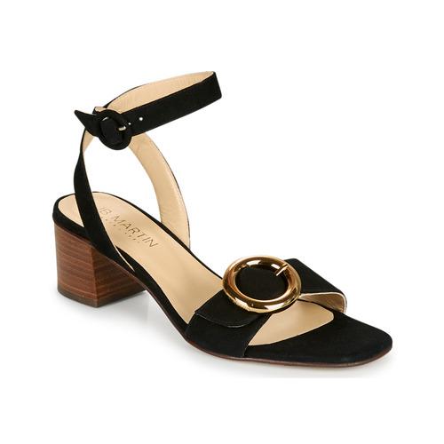 Chaussures Femme Sandales et Nu-pieds JB Martin OLAK Noir