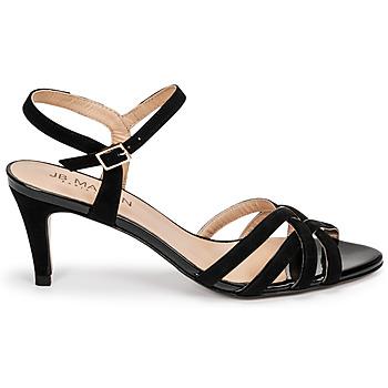 Chaussures Femme Sandales et Nu-pieds JB Martin PIRIA Noir