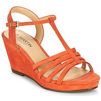 Chaussures Femme Sandales et Nu-pieds JB Martin QUIRA Papaye