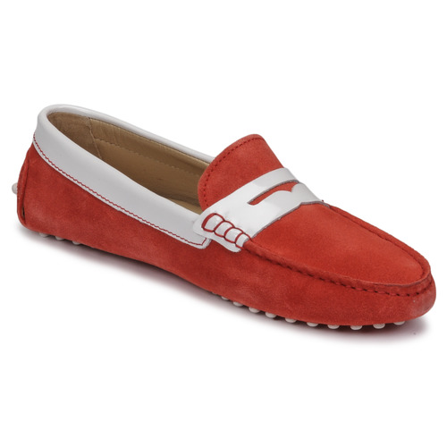 Chaussures Femme Mocassins JB Martin TABATA Corail