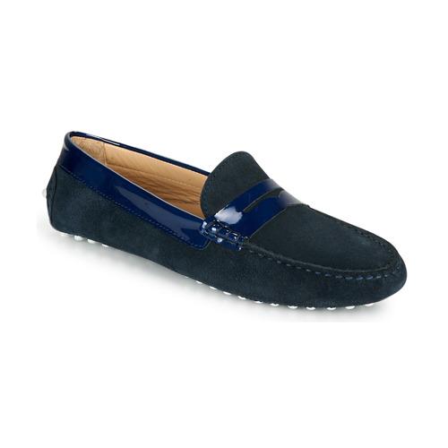 Chaussures Femme Mocassins JB Martin TABATA Marine