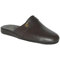 Chaussures Homme Chaussons Falcade PANTOUFLES DE CHAMBRE  - 162 TÊTE DE LANDES Marron