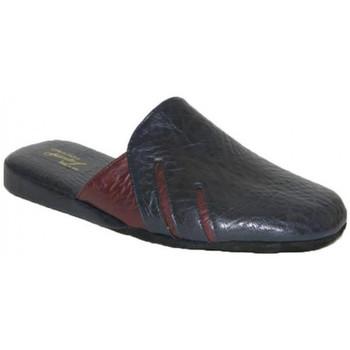 Chaussures Homme Chaussons Falcade PANTOUFLES DE CHAMBRE  - 404 BLEU bleu