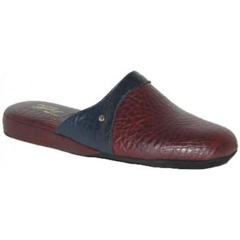 Chaussures Homme Chaussons Falcade 613 PANTOUFLES  BORDEAUX Autres