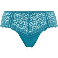Sous-vêtements Femme Shorties & boxers Pommpoire Shorty turquoise Elena Bleu