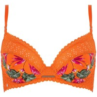 Sous-vêtements Femme Rembourrés Morgan Soutien-gorge coques moulées tropical Eve Orange