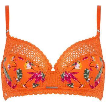 Sous-vêtements Femme Corbeilles & balconnets Morgan Soutien-gorge à armatures tropical Eve Orange