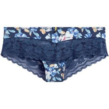 Sous-vêtements Femme Shorties & boxers Pommpoire Shorty marine Eve Bleu