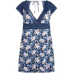 Vêtements Femme Pyjamas / Chemises de nuit Pommpoire Nuisette marine Eve Bleu