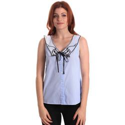 Vêtements Femme Tops / Blouses Fornarina SE174576CA1218 Bleu