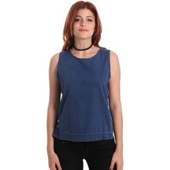 Vêtements Femme Tops / Blouses Fornarina SE175J70D883SK Bleu