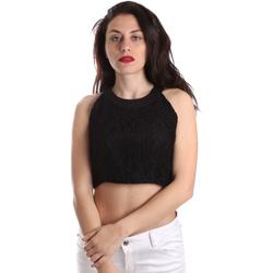 Vêtements Femme Tops / Blouses Fracomina FR19SP689 Noir