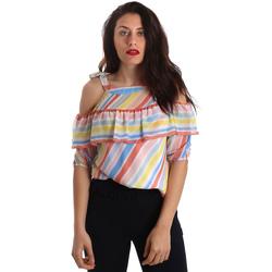 Vêtements Femme Tops / Blouses Fracomina FR19SP556 Blanc
