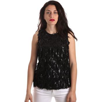 Vêtements Femme Tops / Blouses Fracomina FR19SP533 Noir