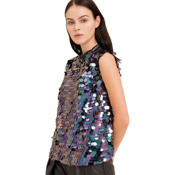 Vêtements Femme Tops / Blouses Fracomina FR19FP508 Noir