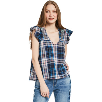Vêtements Femme Tops / Blouses Gaudi 011BD45007 Bleu