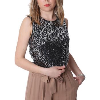 Vêtements Femme Tops / Blouses Fracomina FR20SP634 Noir