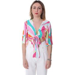 Vêtements Femme Tops / Blouses Fracomina FR20SP519 Blanc