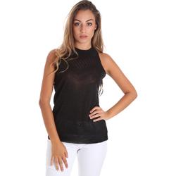 Vêtements Femme Tops / Blouses Fracomina FR20SM812 Noir