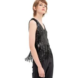 Vêtements Femme Tops / Blouses Fracomina FR20SP503 Noir