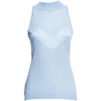 Vêtements Femme Tops / Blouses Fracomina FR20SM812 Bleu