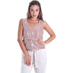 Vêtements Femme Tops / Blouses Fracomina FR20SMARISA Beige